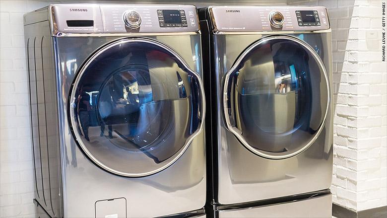 هزینه تعمیر لباسشویی سامسونگ