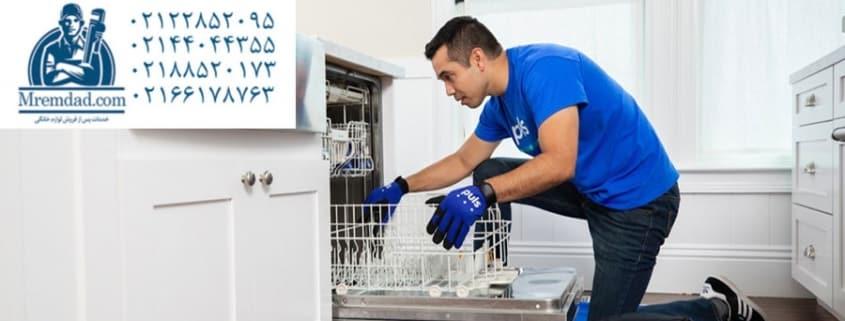 تعمیر ماشین ظرفشویی ال جی در پونک