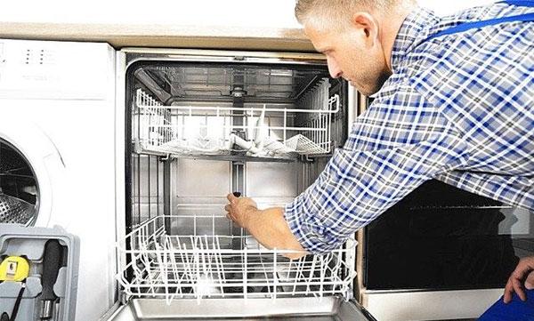 عیوب رایج در ماشین ظرفشویی کنوود
