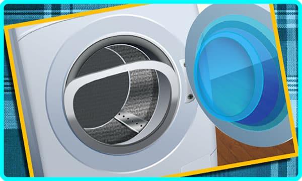 عیوب رایج در ماشین لباسشویی کن