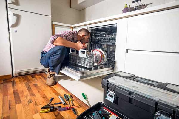 عیوب رایج در ماشین ظرفشویی دوو