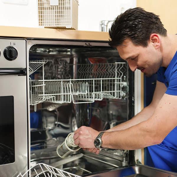 عیوب رایج در ماشین ظرفشویی میله