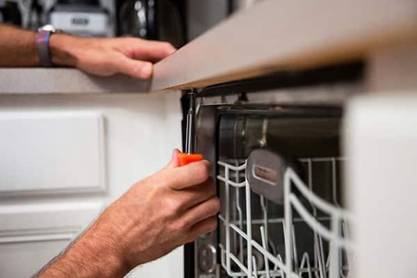 عیبیابی و تعمیر ظرفشویی وستینگهاوس